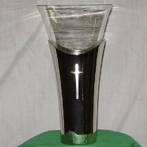 Buy a Silver Cross Vase