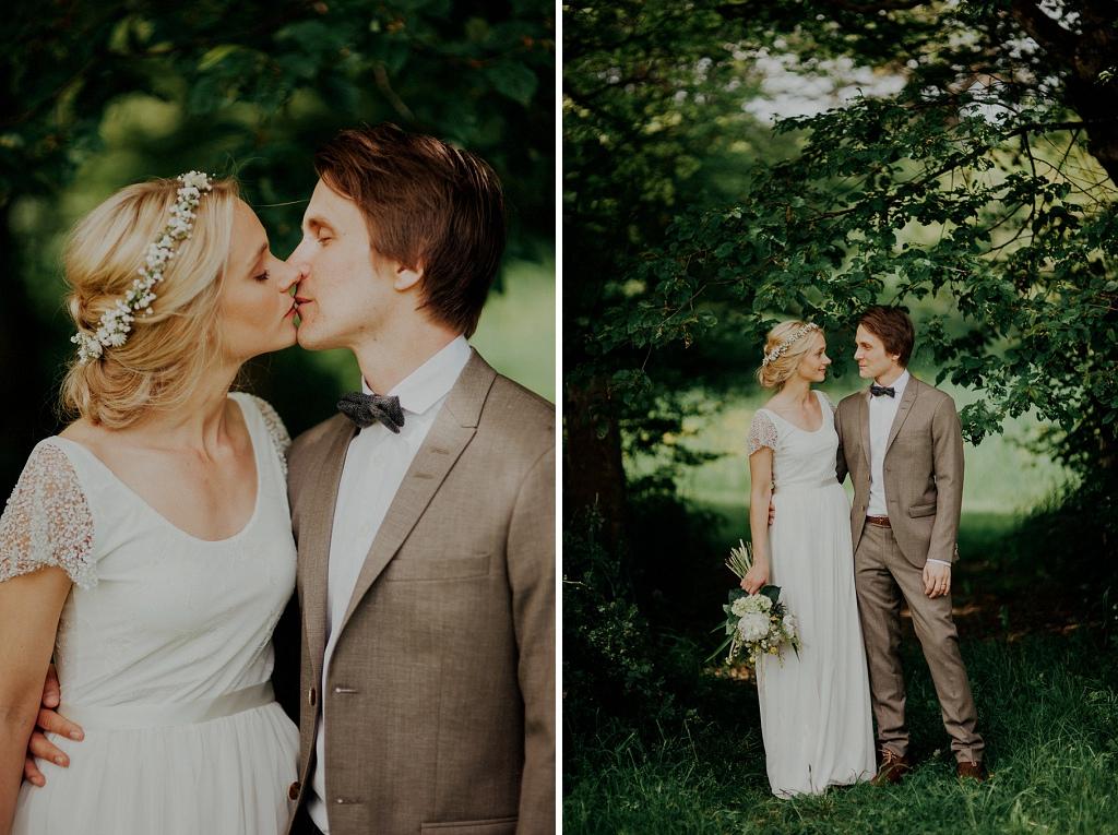 Porträttbilder i natur | Bröllopsfoto