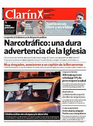 CLARÍN NARCOTRÁFICO 9-11-13: DURA ADVERTENCIA DE LA IGLESIA
