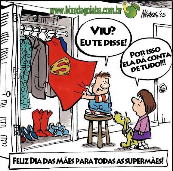 Feliz Dia das Mães, Supermães!