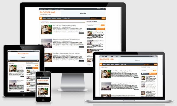 Blogger Lab Niş Blogger Teması