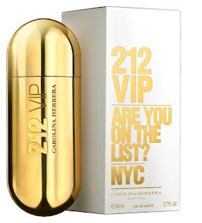 Perfume 212 vip 80ml Feminino Eau de Parfum Carolina Herrera
