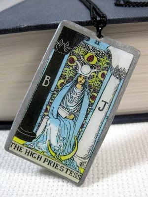Rider Waite High Priestess Pendant