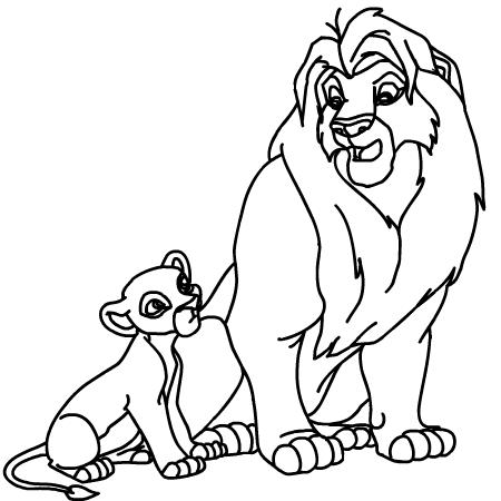 Imagini cu animale salbatice de colorat fise de lucru - Coloriage roi lion 2 ...