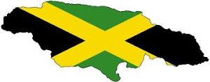 Jamaica-Flag map