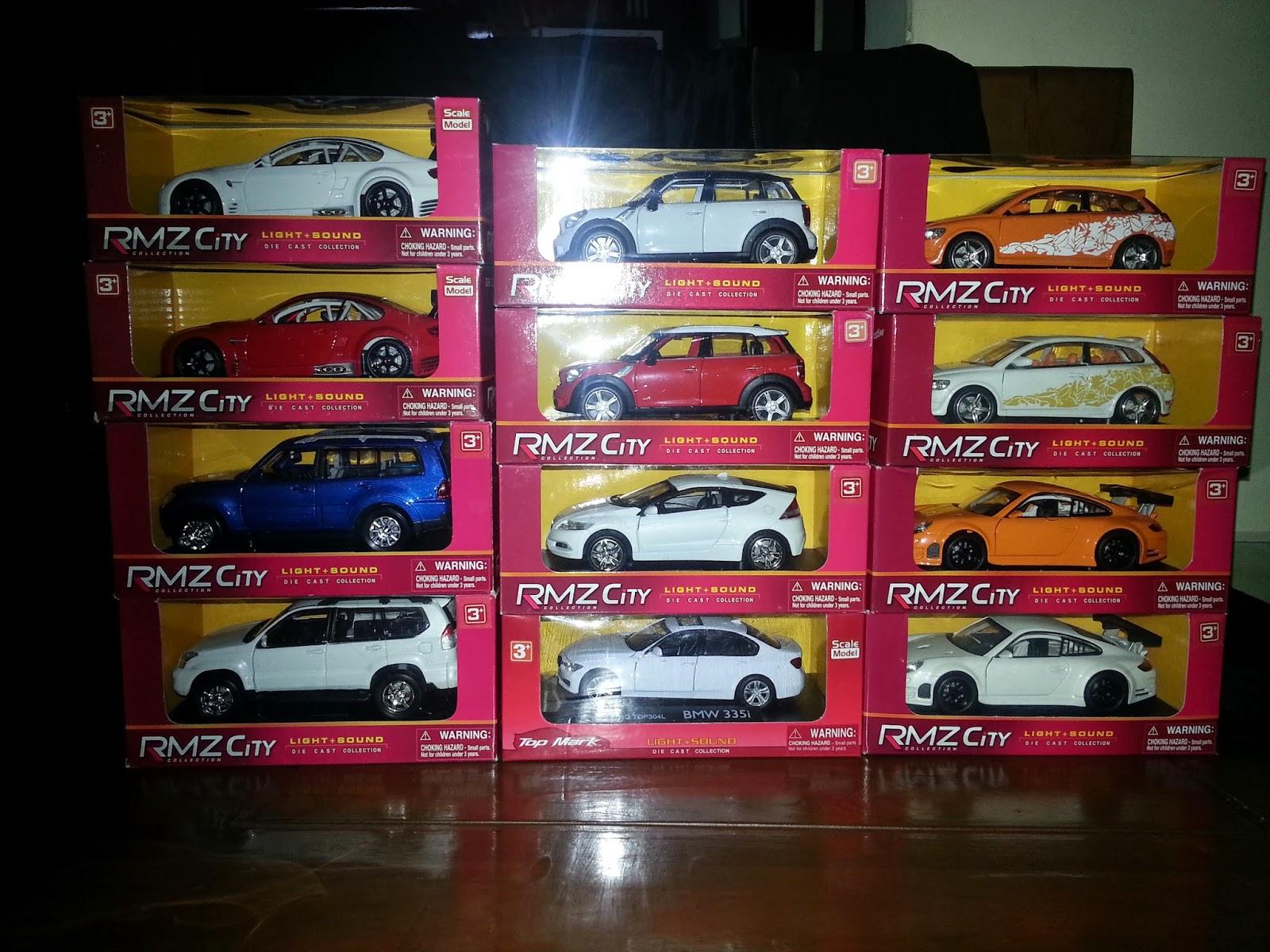 RMZ City Diecast Collections Part 2
