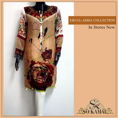 So Kamal Pret Eid Ul Adha Collection 2014-2015