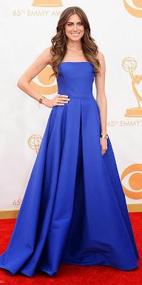 Allison Williams, 2013 Emmys, red carpet, awards show
