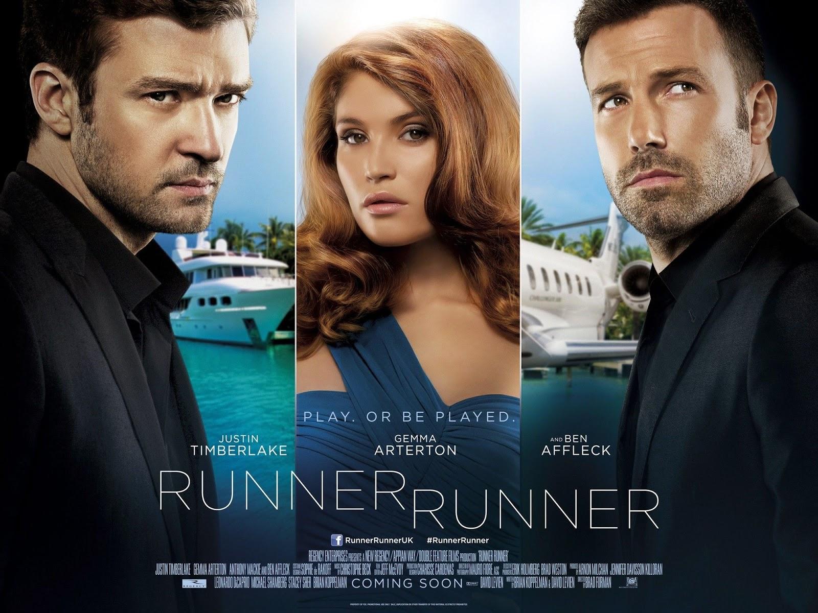 Cartel de Runner Runner