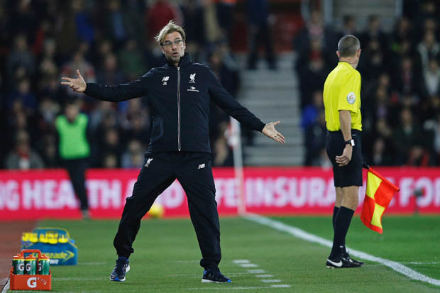 TACTICS: Klopp focuses on how he wants his team to play to ensure the best possible results
