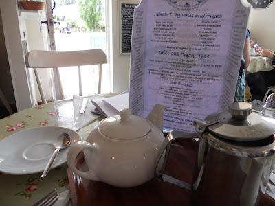 Jane Austen Tea Room Menu