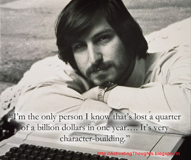 Inspiring quotes by Steve Jobs