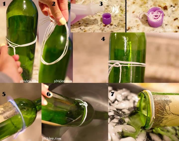 Cortar botellas de vidrio recicla y reutiliza relajate - Cortar botella cristal ...
