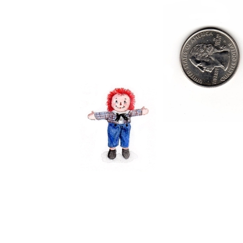 23-Raggedy-Andy-Karen-Libecap-Star-Wars-&-other-Miniature-Paintings-and-drawings-www-designstack-co