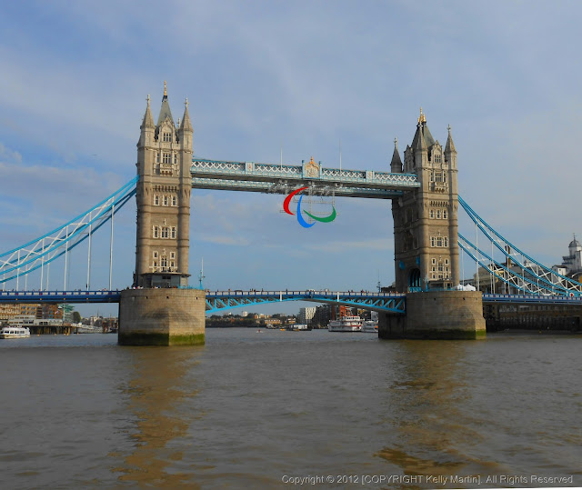 London Tower Bridge Paralympic Rings