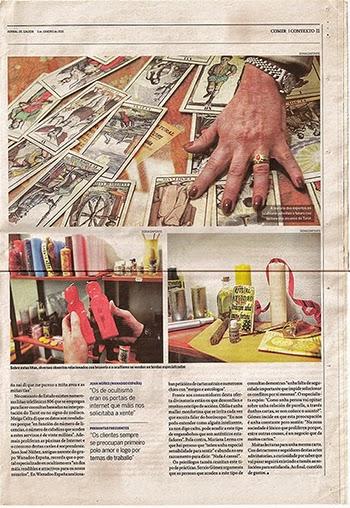 Meiga Celta Tienda Esotérica en la prensa y los medios