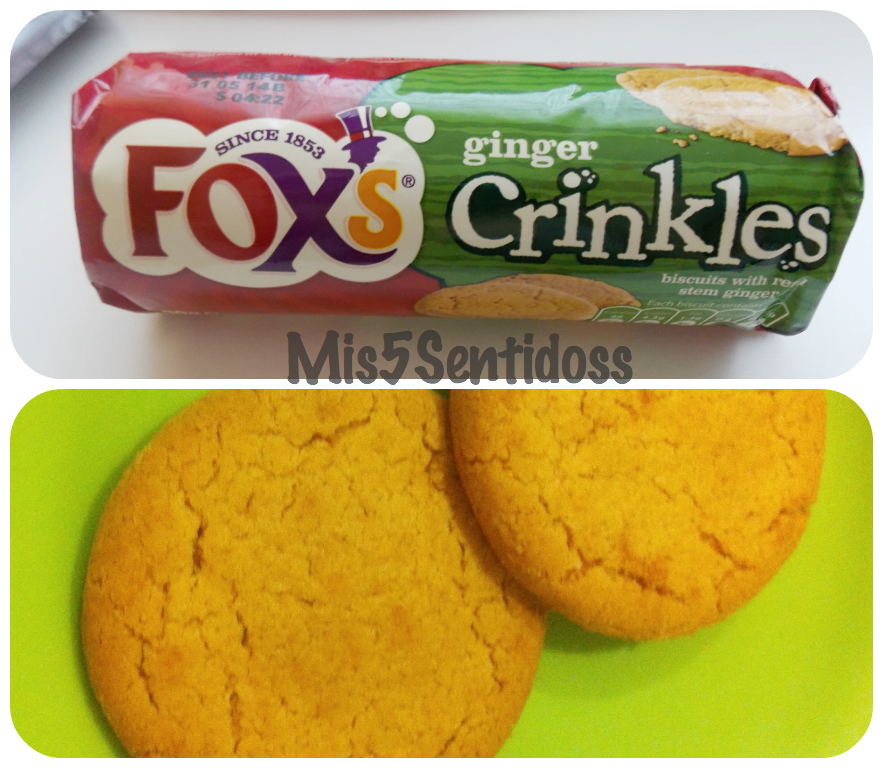Degustabox abril 2014 Fox's