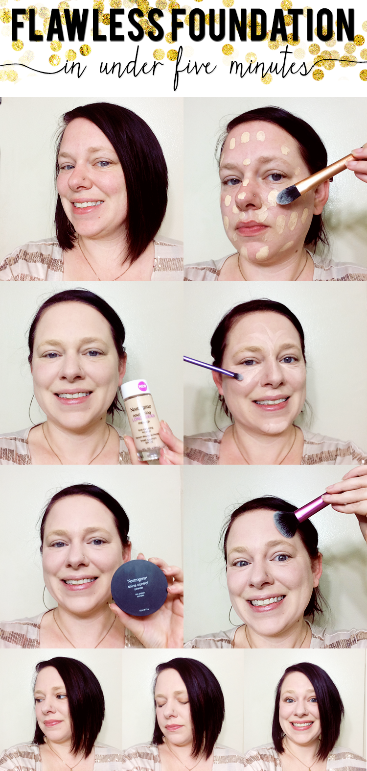 Flawless Foundation In Under Five Minutes