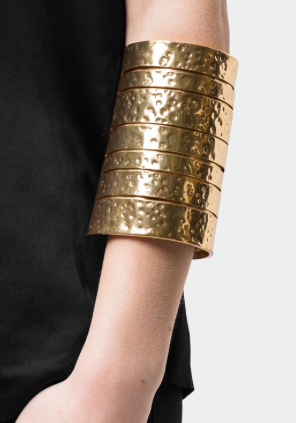 Rebajas SS 2015 complementos brazalete dorado