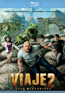 Carátula Viaje 2: La Isla Misteriosa película HD 720p latino