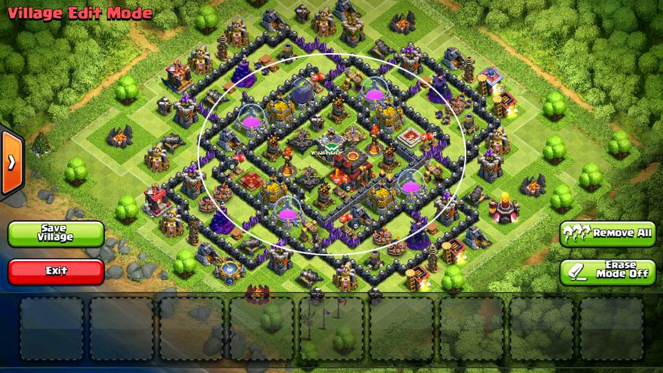 Collection of coc th10 war base and decorating tips for your home