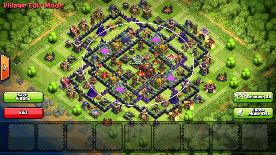 Coc Th10 War Bases
