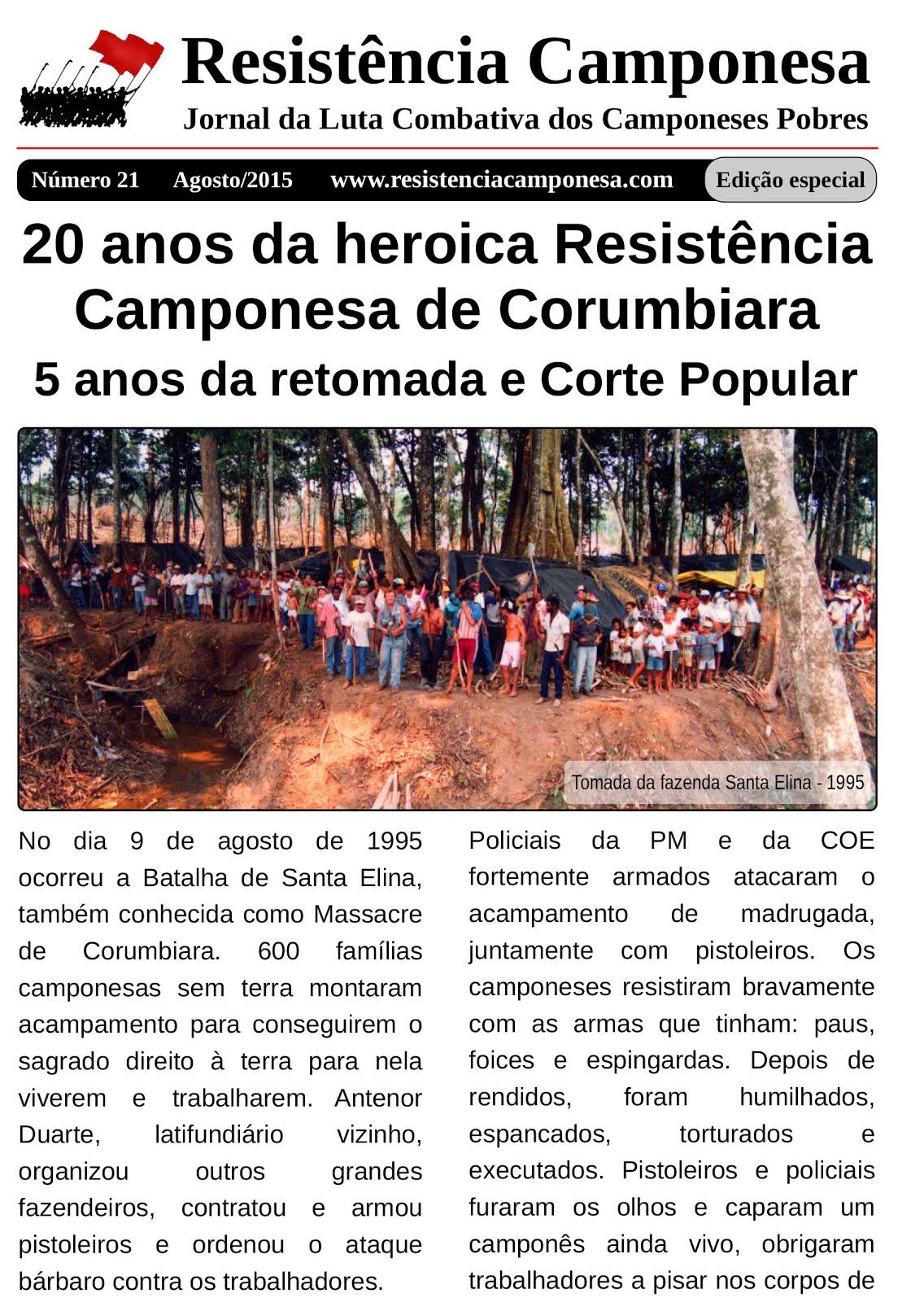 Jornal Resistência Camponesa
