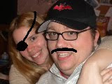 Alternate Universe Matt and Kristi