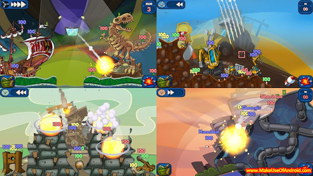 Worms 2: Armageddon 1.4.1 Android Free Shopping Mod APK
