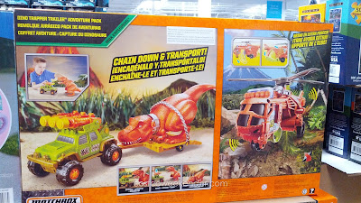 Capture your very own dinosaur with the Matchbox Dino Trapper Trailer Adventure Pack