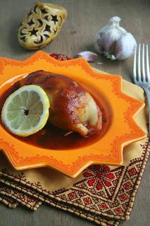 Recette des calamars farcis à la marocaine