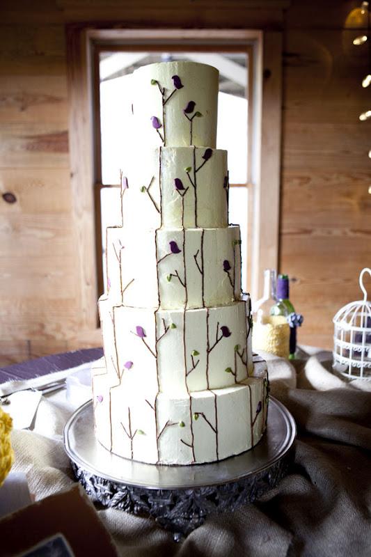 Bird Wedding Cake In Augusta GA