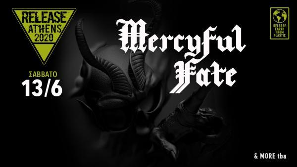 ΟΙ MERCYFUL FATE STIS 13 IOYNIOY ΣΤΟ RELEASE FESTIVAL