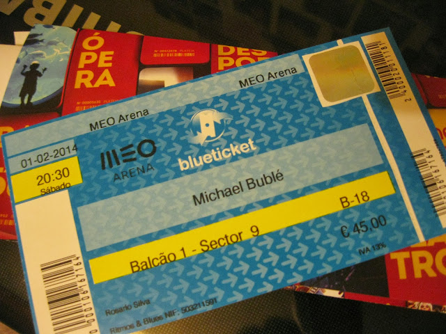 Michael Bublé em Portugal...