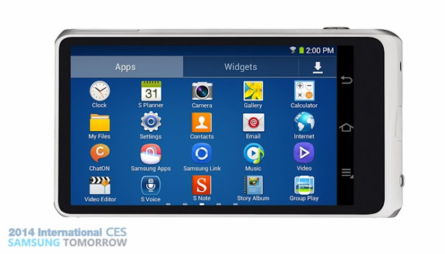 Samsung Galaxy Camera 2 front view