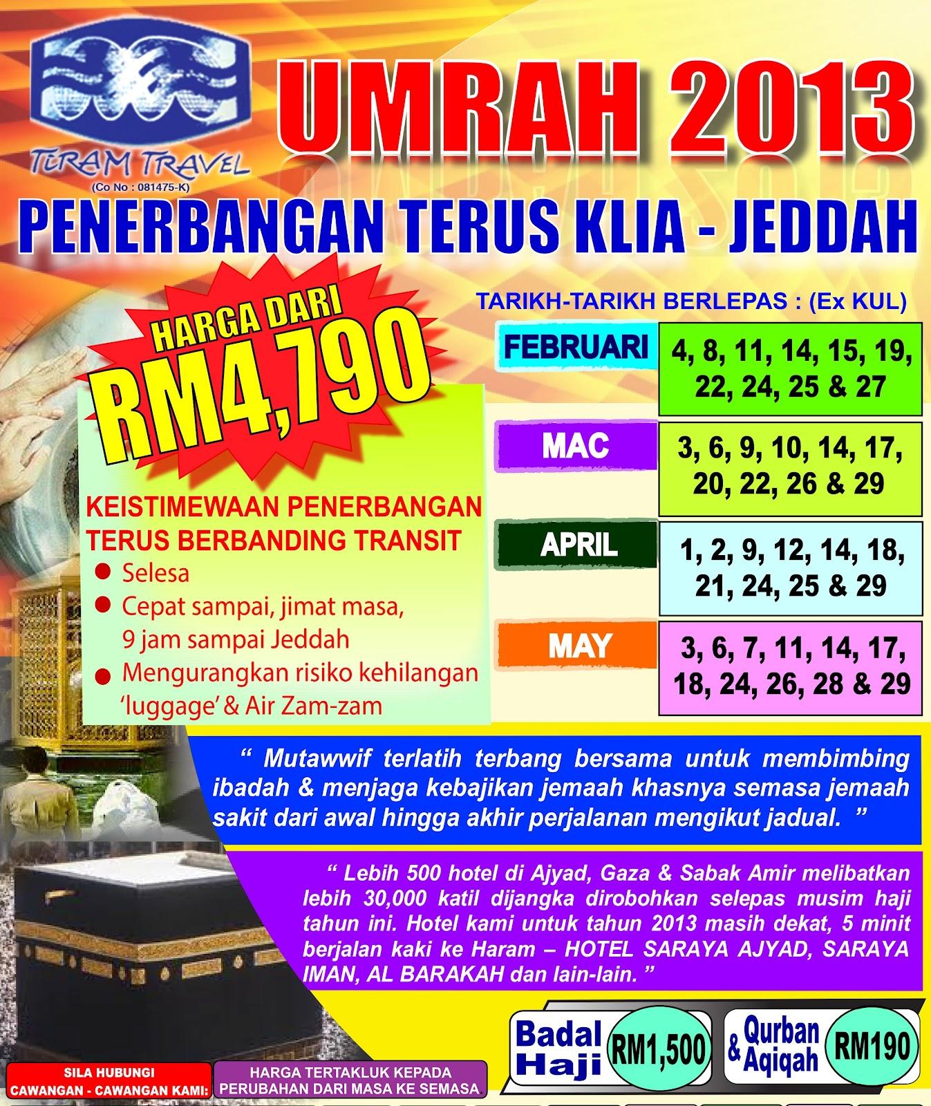 Syoknya Umrah bersama Tiram Travel - Haji, Umrah & Ziarah