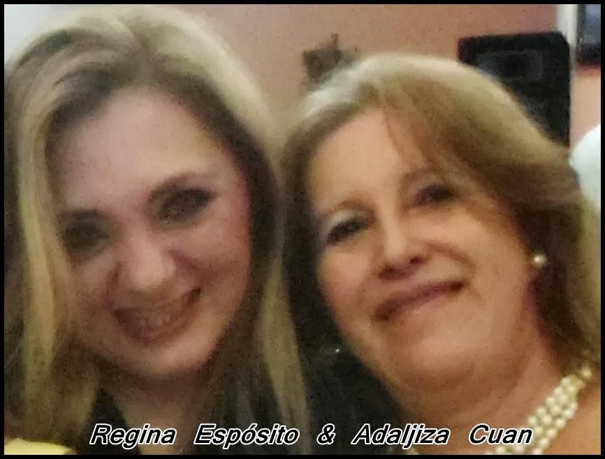REGINA ESPÓSITO & ADALJIZA CUAN - ELA ME INDICOU E FUI ACEITA EMBAIXADORA DA PAZ NO BRASIL- S.P.