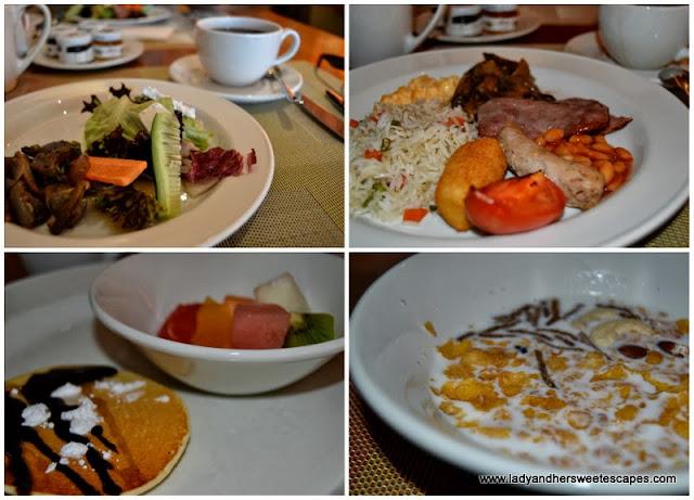 My power breakfast at Choices in Yas Island Rotana