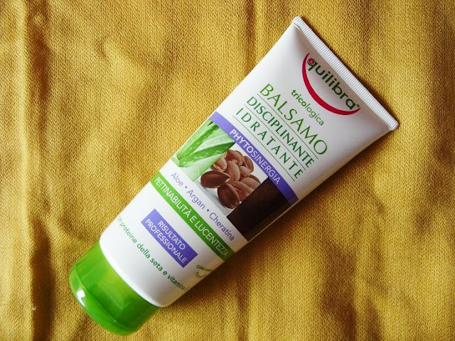 Recenzja: Nawilżająca odżywka zwiększająca objętość włosów, Equilibra