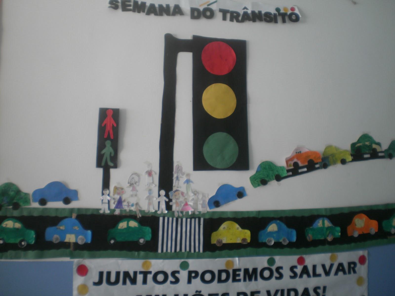 Preferência A Arte de Ensinar - Educação Infantil: SEMANA DO TRÂNSITO UO34