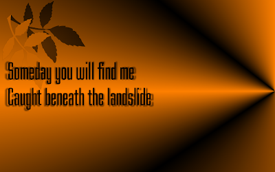 Champagne Supernova - Oasis Song Lyric Quote in Text Image