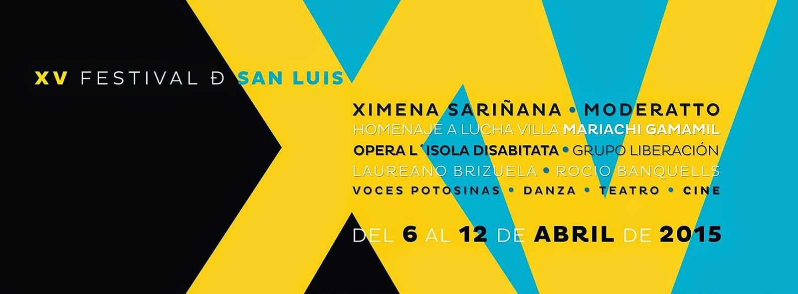 xv Festival de San Luis 2015