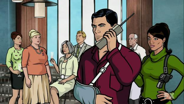Archer (FX) Temporada 2 Capítulo 8 - Stage Two (Subtitulado En ...