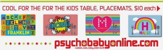 Shop Cool Personalized Placemats for Kids