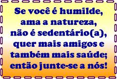 CAMINHADAS RURAIS !!!!!!