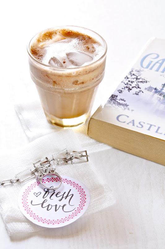 nutella instant iced coffee, aka homemade mocha frappuccino