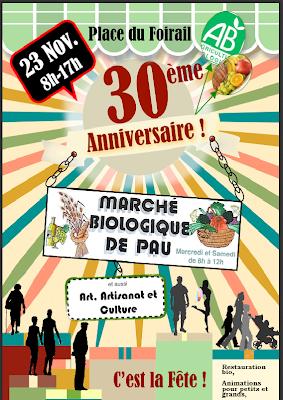 30 ans de Marché Bio à Pau