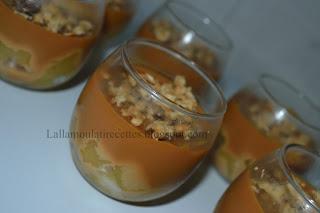 Verrines Pommes Caramel