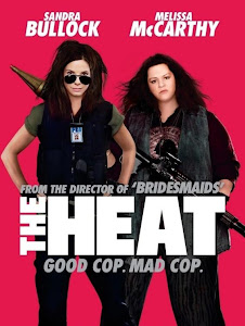 Poster Of Hollywood Film The Heat (2013) In 300MB Compressed Size PC Movie Free Download At worldfree4u.com