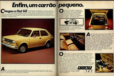 brazilian advertising cars in the 70. os anos 70. história da década de 70; Brazil in the 70s; propaganda carros anos 70; Oswaldo Hernandez;